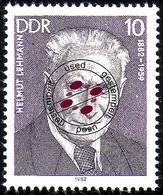 2688 Persönlichkeiten Arbeiterbewegung 1982 Lehmann O - [6] Democratic Republic