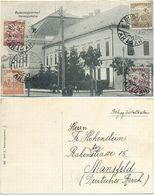 AK Balassagyarmat 1925, Varmegyehaza, Von Budapest Ungarn Nach Mansfeld Gelaufen - Hongrie