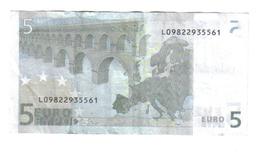 5 € FINLANDIA L E010E5 JEAN CLAUDE TRICHET CIRCULATED COD.€.126 - 5 Euro