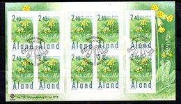 Carnet Flora 1999  Aland - Aland