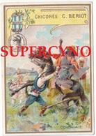 59 NORD IMAGE CHROMO CHICOREE BERIOD LILLE A LA BELLE JARDINIERE MEDAILLE COLONIALE FORMAT 7.2/10.5 - Alte Papiere