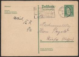 1929 - GS 8Pfg (Mi.PP104) SonderStpl 27.3.29. GÖRLITZ - IM POSTAUTO DURCH DAS RIESENGEBIRGE - Briefe U. Dokumente