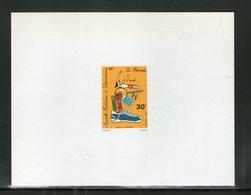 NOUVELLE CALEDONIE 1980 EPREUVE DE LUXE YVERT  N°438  NEUF MNH** - Sin Dentar, Pruebas De Impresión Y Variedades