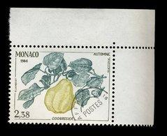 Monaco 1984 - Neuf - Scanné Recto Verso - Y&T N° 84 Préoblitéré - Cognassier - 2,38 - Préoblitérés