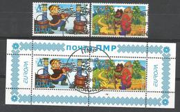 MD 2010 EUROPA CEPT, MOLDAVIA PMR, 1 X 2v + S/S, Used - Europa-CEPT