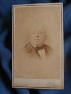 Photo CDV  Daveluy à Bruges  Portrait Homme âgé  CA 1865 - L458 - Ancianas (antes De 1900)