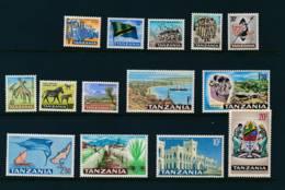 TANZANIA, 1965 Set Complete MNH, Cat £21 - 1965-1966 Interne Autonomie