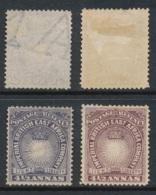 EAST AFRICA COMPANY, 1890 4½A Dull Violet + Brown Purple Unused No Gum, Cat £40 - Kenya, Uganda & Tanganyika