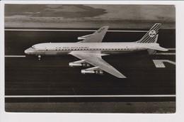 Vintage Rppc KLM K.L.M Royal Dutch Airlines Douglas Dc-8 @ Schiphol Airport Number A - 1919-1938: Between Wars