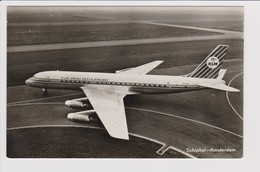 Rppc KLM K.L.M Royal Dutch Airlines Douglas Dc-8 @ Schiphol Amsterdam Airport Number B - 1919-1938: Between Wars