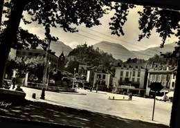 09 AX-LES-THERMES LA PLACE DU BREILH / A 544 - Ax Les Thermes