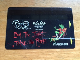 Hotelkarte Room Key Keycard Clef De Hotel Tarjeta Hotel HARD ROCK HOTEL LAS VEGAS - Télécartes