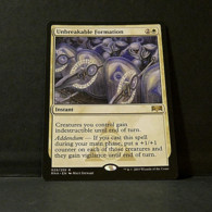 Magic The Gathering Ravnica Allegiance Unbreakable Formation - Carte Bianche