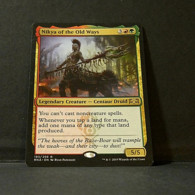 Magic The Gathering Ravnica Allegiance Nikya Of The Old Ways - Carte D' Oro