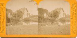 Frankrijk/ La France, Stereoscoopfoto, Longchamps, Ca. 1915 - Stereoscoop