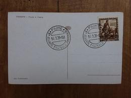 REGNO - Marcofilia - 1° Adunata Filatelica Fiume 1939 + Spese Postali - Interi Postali