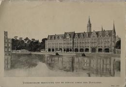 Den Haag ( 's Gravenhage) Voorgestelde Bebouwing Van De Strook Langs De Hofvijver 19?? Gn Adreslijnen - Den Haag ('s-Gravenhage)