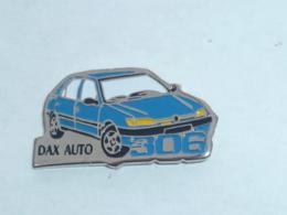 Pin's PEUGEOT 306, DAX AUTO - Peugeot