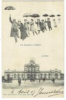 Renaix. Ronse. Une Excursion à Renaix. La Gare. Edition MARCOVICI.  **** - Ronse