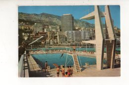 PRINCIPAUTE DE MONACO La Piscine Olympique  (carte Photo Animée) - Monte-Carlo