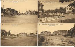 S.A.  DES CHARBONNAGES DES LIEGEOIS EN CAMPINE   8  CARTES +1 COUVERTURE CARNET - Mines