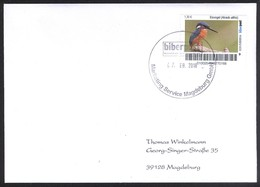 Biber Post, Gelaufener FDC 1,30 Eisvogel V. 7.2.2018 #1802 - Privé- & Lokale Post