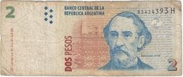 Argentina 2 Pesos 2002 Pk 352 8 Ref 30 - Argentina