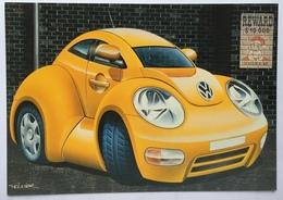 (870) Volkswagen - Son Of A Beach - Reward $ 10 000 - Dead Or Alive - Autocartoon - Publicité