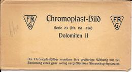 Italië/Italia, Stereoscoopfoto, Chromoplast, Serie 23, 6 Foto's, Ca. 1925 - Stereoscoop