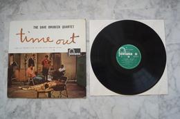 THE DAVE BRUBECK QUARTET TIME OUT LP FRANCE 1960 VALEUR+  LABEL VERT - Jazz