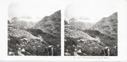 Oostenrijk/Austria, Stereoscoopfoto, Tiroler Zillertal, Blick Auf Den Gr. Mösele, Ca. 1920 - Stereoscoop