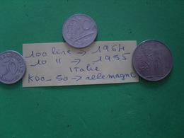 3 Allemagne Divers - Münzen & Banknoten