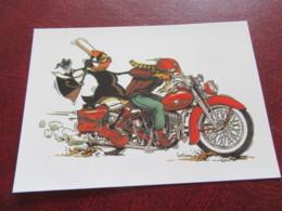 Bretonne  MAM-GOZ Illustrateur LE CORRE Moto Bad Boy Loubard Bretagne - Contemporanea (a Partire Dal 1950)