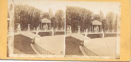 Stereoscoopfoto, Prieel, Kunstpark, Plaats Onbekend/unbekannt Wo, Ca. 1915 - Stereoscoop