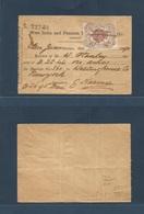 PUERTO RICO. 1890. San Juan West India And Panama Telegraph Company. Recibo De Telegrama De Estados Unidos Con Uso De Se - Puerto Rico