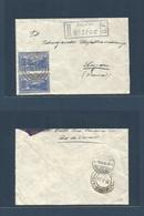 Brazil - XX. 1932 (20 Oct) Penha - Switzerland, Luzern (8 Nov) Registered Air Comm Cover. Fine Used + R - Cachet. - Brasilien
