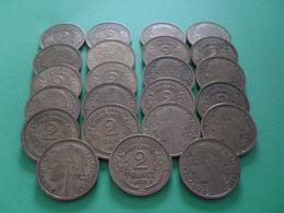 23 Pièces De 2 Frs - Münzen & Banknoten