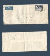 BC - Nigeria. 1950 (7 Jan) Lagos - Germany, Bavaria, US Zone. Single 3d UPU 1949 Issue On Comercial Usage, Cds. Mat Unus - Unclassified