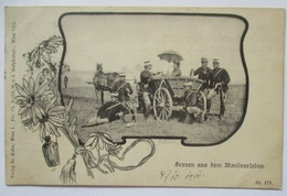 Österreich Szenen Aus Dem Manöver, Verlag Kohn Wien 1900 (23317) - Militari