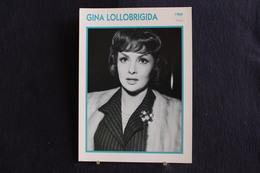 Sp-Actrice, 1960 - Gina Lollobrigida  Est Une Actrice Et Photographe Italienne, Née Le 4 Juillet 1927 à Subiaco - Acteurs