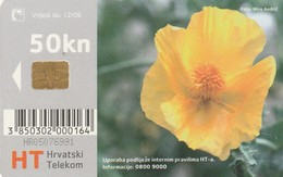 CROACIA. Flora Croata: Primorska Makovica. TK 11/04B. (010). - Flores