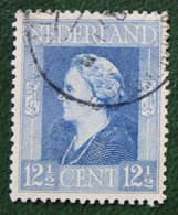 12 1/2 Ct Bevrijdingszegel NVPH 434 (Mi 434) 1944-1946 Gestempeld / Used NEDERLAND / NIEDERLAND - Gebraucht