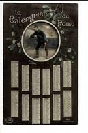 346 - SOLDAT - SOLDAAT - LE CALENDRIER DU POILU 1916 - Patriottisch