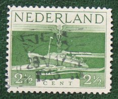 2 1/2 Ct Bevrijdingszegel NVPH 429 (Mi 429) 1944-1946 Gestempeld / Used NEDERLAND / NIEDERLAND - Gebraucht