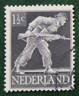 1 1/2 Ct Bevrijdingszegel NVPH 428 (Mi 428) 1944-1946 Gestempeld / Used NEDERLAND / NIEDERLAND - Gebraucht