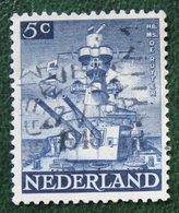 5 Ct Bevrijdingszegel NVPH 431 (Mi 431) 1944-1946 Gestempeld / Used NEDERLAND / NIEDERLAND - Gebraucht