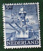 5 Ct Bevrijdingszegel NVPH 431 (Mi 431) 1944-1946 Gestempeld / Used NEDERLAND / NIEDERLAND - Periodo 1891 – 1948 (Wilhelmina)