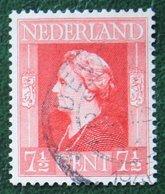 7 1/2 Ct Bevrijdingszegel NVPH 432 (Mi 432) 1944-1946 Gestempeld / Used NEDERLAND / NIEDERLAND - Gebraucht
