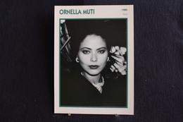 Sp-Actrice, Italienne, 1980 - Ornella Muti, Née Francesca Romana Rivelli Le 9 Mars 1955 à Rome, - Acteurs