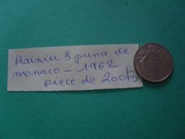 20cts Prince Rainier - Münzen & Banknoten